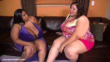Bbw threesome, Cotton Candi and Anastasia Vanderbust thumbnail