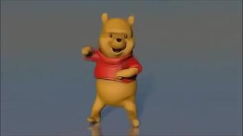 Adult winnie the pooh costumes Winnie the pooh dancing