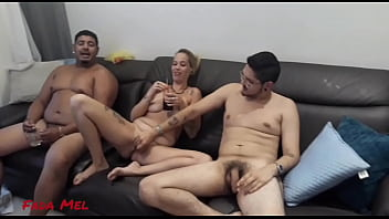 Backstage of the recording of the best Home Menage. Rolled a Hot Whore, Complete in RED.