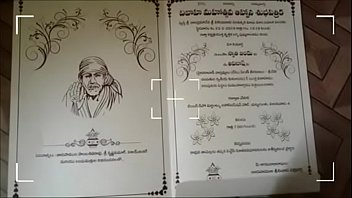 Swathi naidu&rsquo_s wedding invitation card