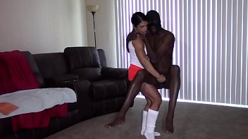 Sexual dysfunction and uncircumcised Big black dick stroked till massive explosion