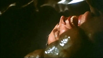 Galaxy Of Terror Worm Sex Scene 16A: It Lifted Her Hips Up High For Its Deeper Penetration!