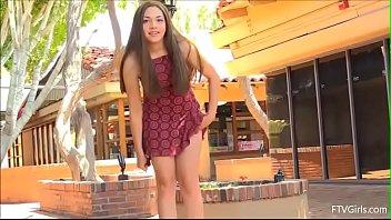 kelly kitten's summer dress tease Image
