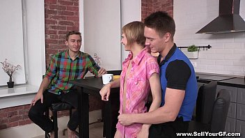 Sell Your GF - Petite Gal Aon Flux Loves Stranger Teen-porn Cock