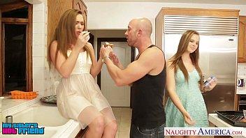 Hot Girls Jillian Janson And Maddy O` Reilly Sharing Cock 8 Min