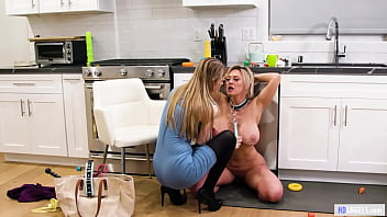 Big Titted Dominant Nanny Having Lesbian Sex With A Buxom M. - Dee Williams, Bunny Colby