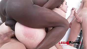 Curvy Teen Sofya Curly Swallows 3 Huge Loads   Airtight DP & DPP