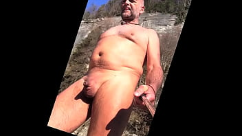 Little Dick Daddy In Nudist Canyon