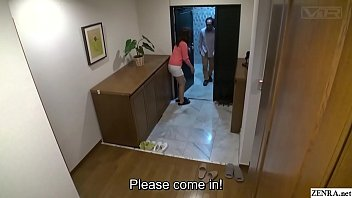 Subtitled insane Japanese mother CFNM party for shy daughter thumbnail