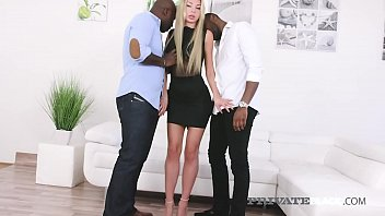 PrivateBlack - Marilyn Kristal Double Dicked By Black Cock!