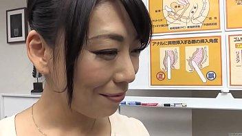 Subtitled bizarre Japanese anal sex preparation seminar HD thumbnail