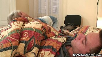His wife finds him banging m.-in-law!