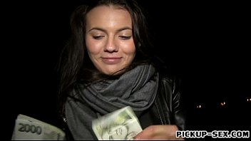 Czech babe pounded and jizzed for money