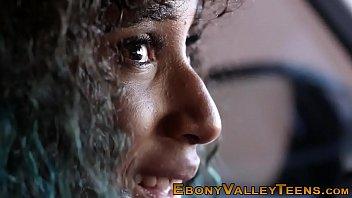 Ebony valley teens jizzed 8 min