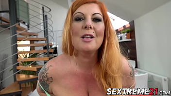 Redhead jeans elastic Redhead bbw tammy jean roughly penetrated with big dick