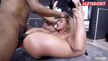 LETSDOEIT - (Cherry Kiss, Darrell Deeps) - Squirting Slut Gets Her Asshole Penetrated By A Huge Black Cock