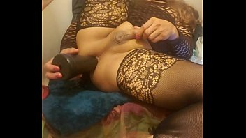 Very anal tranny treat with giant dildos and blasting asshole