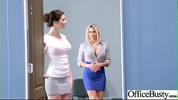 Hardcore Sex In Office With Huge Boobs Girl (Rachel RoXXX & Skyla Novea) vid-26 7分钟
