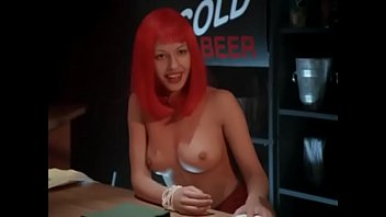 Redhead gif - Endangered species: sexy topless girl gif