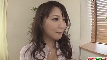Hinata Komine Is A Wife On Fire, Needy For The Young Cock - More At Japanesemamas Com
