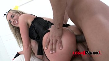 Jenny Simons DAP & DP with 2 massive cocks SZ861