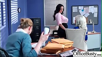 Hard Sex With Big Round Tits Nasty Office Girl Ava Addams & Riley Jenner video04
