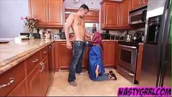 Innocent arab exchange student filled with cum deep in her muslim pussy 7 min