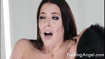 Cock In All Holes - Angela White, Kristina Rose (Anal Threesome)