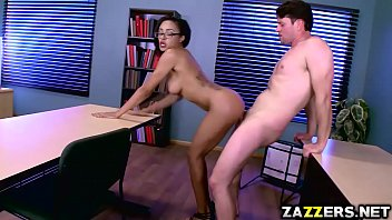 Casey parker interracial - Preston parker fucks that ebony pussy in the table