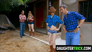 Country Dads swap Daughters for a change thumbnail