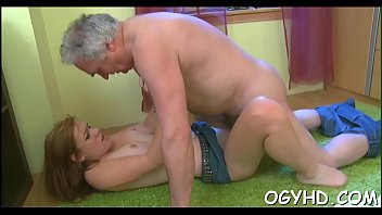 Young cunt old cock - Old boy craves for young hole