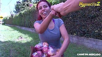 MAMACITAZ - Hot Latina Teen Gets Picked Up And Hardcore Nailed On Cam - Canela Skin 11 min