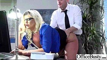 Sex On Cam With Busty Horny Office Slut Girl (julie cash) clip-19