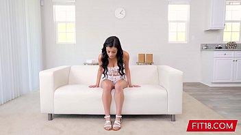 FIT18 - Savannah Sixx - 52kg - Casting Big Breasted Latina With Hairy Bush