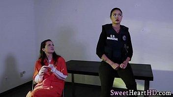 Latina eats lez inmates