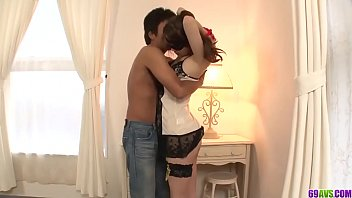 Strong Japanese romance for shy Ameri Ichinose - More at 69avs com