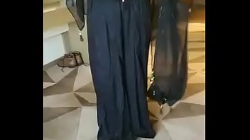 muslim rich lady riya black sari part 5