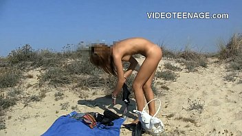 cute teen nude at beach