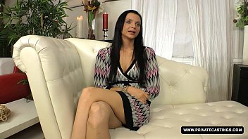 Brunette Anita Gets Screwed in the Ass during Her Casting Audition 10 min