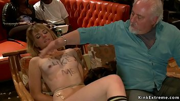 Blonde Groped And Fucked In Theater