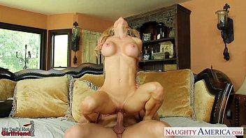 Slim girlfriend Sarah Jessie take cock thumbnail