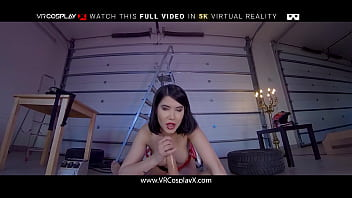 Teen Lady Dee As Ada Wong Needs G-Spot Treatment In RESIDENT EVIL XXX PARODY