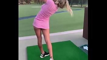 Golfing Blond creampie