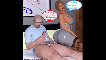 3D Comic Hotwife Cuckolds Husband On Birthday With BBC