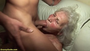 Hairy mature movie porn - German granny in her first porn video