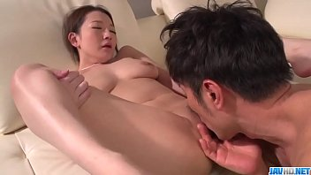 Tsubasa Takanashi fucked on a couch and jizzed hard  - More at javhd.net