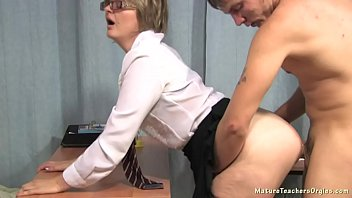 Old russian sex lesson Russian mature teacher 8 - olga math lesson