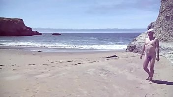 Stroll along the Ocean at a California nude beach