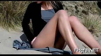 Dishy blonde Jas cums from meat bazooka riding