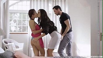 Threesome short stories - Young busty czech voyeur